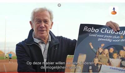Tennisclub doet weer mee aan Rabo-actie