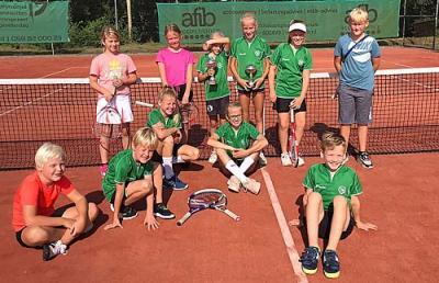 Zonovergoten CK2021 voor tennisjunioren